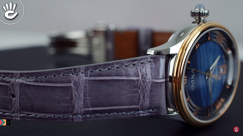 Đánh giá chi tiết đồng hồ DOXA Ngọc Mã Não xanh - D198RAG