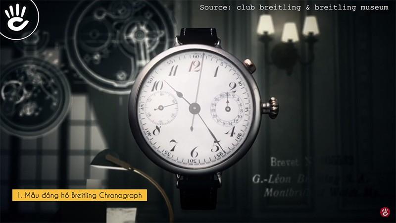 Mẫu đồng hồ Breitling Chronograph