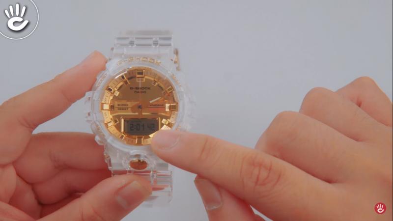 Hướng dẫn sử dụng đồng hồ Casio G-Shock GA-835E-7ADR