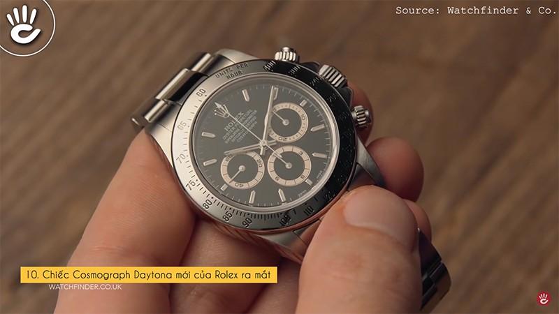 Chiếc Cosmograph Daytona mới của Rolex ra mắt