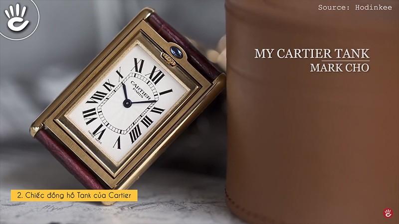 Chiếc đồng hồ Tank của Cartier
