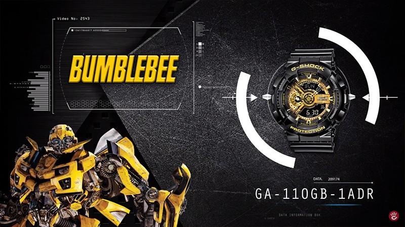 GA-110GB-1ADR 5 chiếc đồng hồ G-Shock Transformers 1 gây bão cư dân mạng