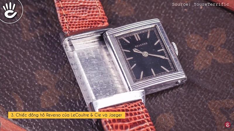 Chiếc đồng hồ Reverso của LeCoultre & Cie và Jaeger