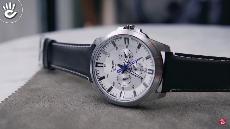 Chiếc đồng hồCasio-SW310L được thiết kế tinh tế, phù hợp với dân văn phòng - MTP-SW310L-7AVDF