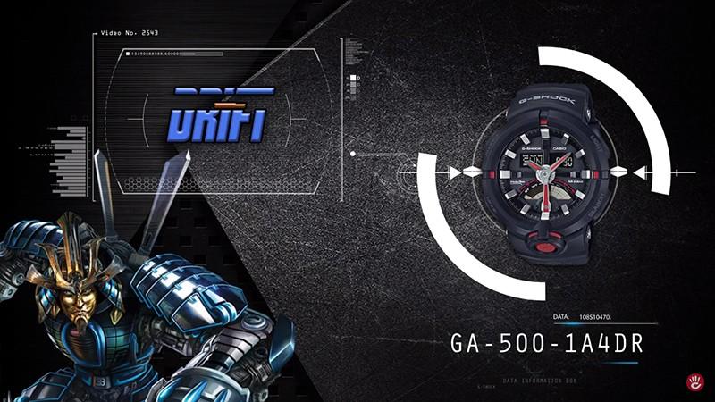 GA-500-1A4DR 5 chiếc đồng hồ G-Shock Transformers 1 gây bão cư dân mạng