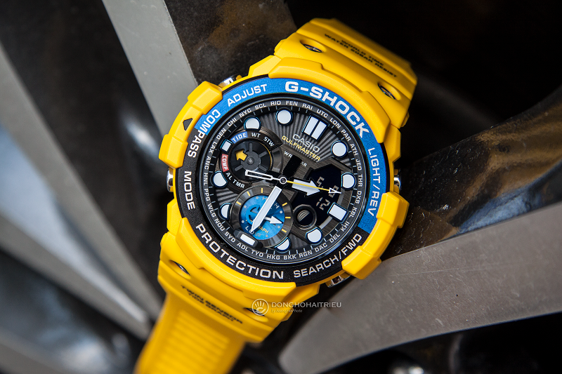 Review đồng hồ nam Casio G-Shock GN-1000-9ADR - FROGMAN - Casio G-Shock GN-1000-9ADR