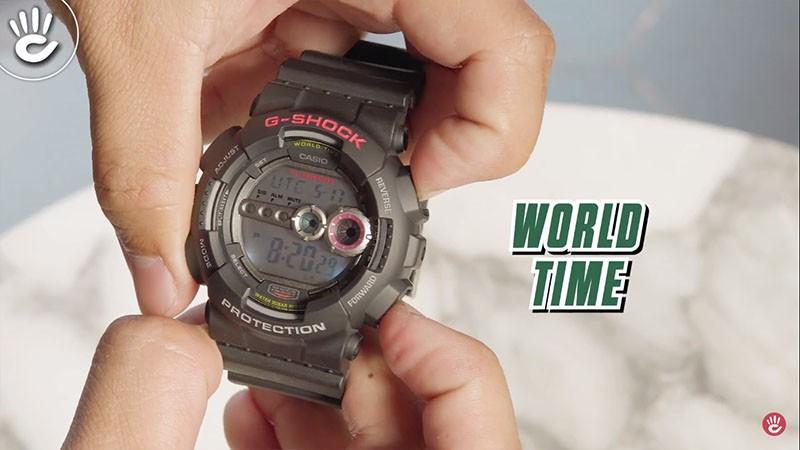 Chức năng giờ thế giới giúp bạn có thể xác định được thời gian của các quốc gia khác