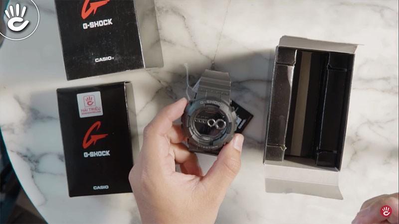Đồng hồ Casio Nam G-Shock GD-100-1BDR - Phiên Bản Giá 2 Triệu - GD-100-1BDR