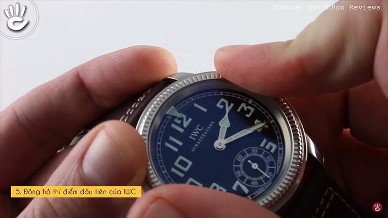 Đồng hồ thí điểm đầu tiên của IWC