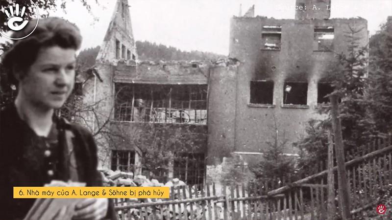 Nhà máy của A. Lange & Söhne bị phá hủy