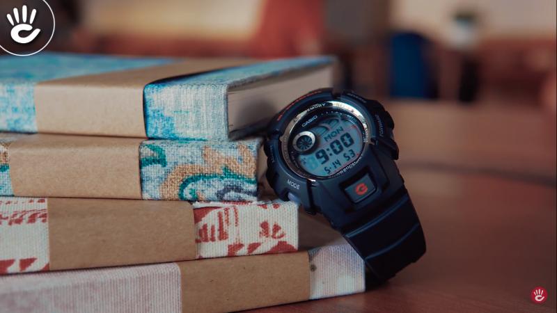 Đồng hồG-Shock G-2900F có nhiều tính năng hữu ích, đặc biệt là tính năng E-Data - G-2900F-1VDR