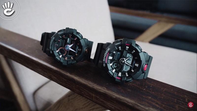 G-Shock GA-700 vs G-Shock GA-710, 400K Cho Autolight?