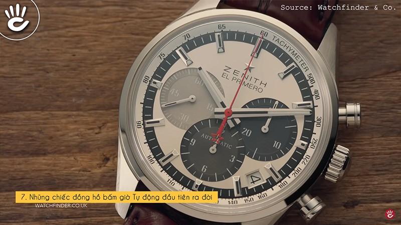 Những chiếc đồng hồ bấm giờ Tự động đầu tiên ra đời
