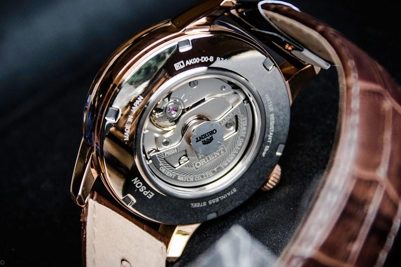 Đồng hồ Orient nam dây da Sun And Moon Gen 2 - Theo dõi ngày và đêm - SUN AND MOON