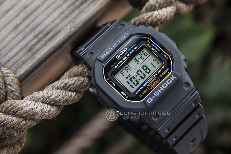 Chiếc đồng hồ với siêu năng lực chịu được trọng lượng cao - DW-5600E-1VDF