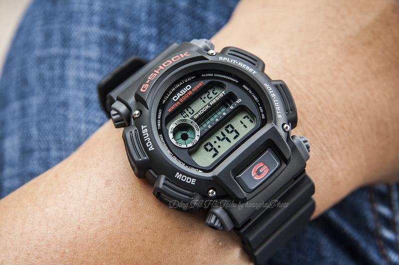 Top 4 Mẫu Đồng Hồ G-Shock Dưới 2 Triệu Đáng Mua Nhất - DW-9052-1VDR