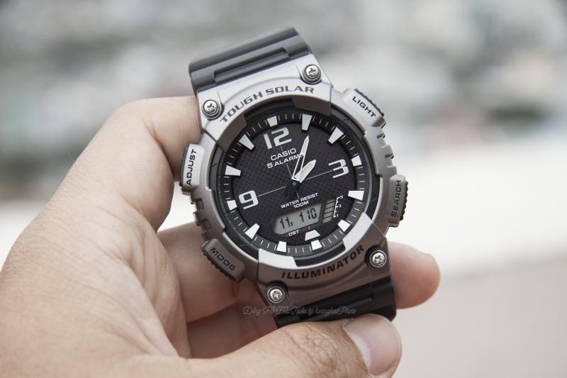 Được trang bị năng lượng ánh sáng từ những mẫu đồng hồ cao cấp là điểm sáng giá nhất ởCasio AQ-S810W-1A4VDF