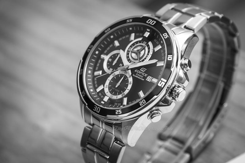 Review đồng hồ Casio Edifice Nam kim loại EFR-547 chính hãng - EFR-547D-1AVUDF