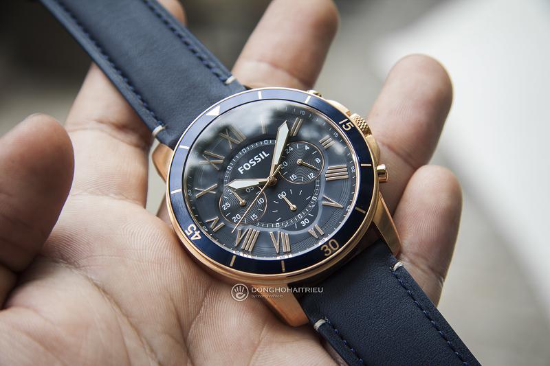Những mẫu đồng hồ của Fossil thực sự luôn quá đẹp và độc đáo (Ảnh: Fossol FS5237)