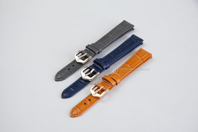 bộ sưu tập dây da Hirsch có đa dạng màu sắc và kích thước