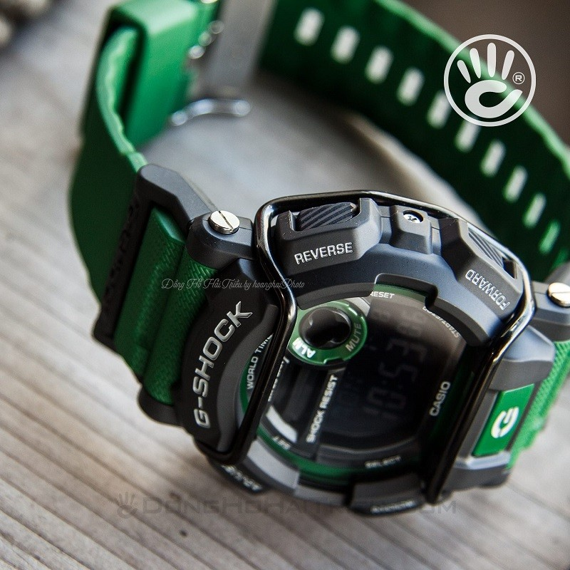 3 Triệu - Reviews đồng hồ Casio G-Shock nam GD-400-3DR - G-SHOCK GD-400-3DR