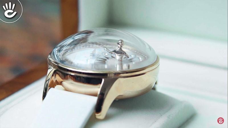 Trên tay chiếc đồng hồ nữ pin và cơ Original vũ công bale siêu đẹp, độc, lạ