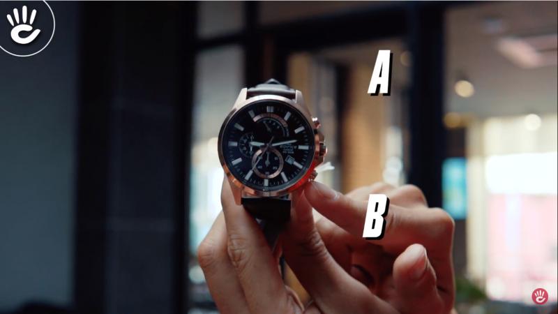 Đồng hồ Edifice Chronograph để kim Chronograph chạy mãi được không?