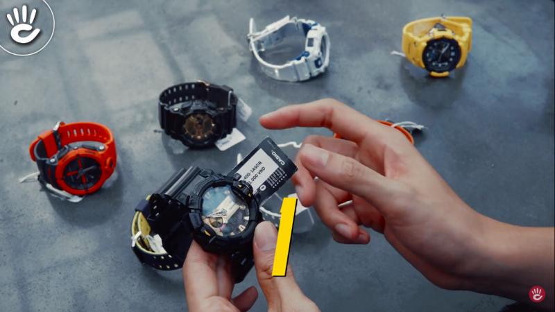 Bí Ẩn Về Mã Số Đồng Hồ G-Shock Để Nhận Biết Màu Sắc Khung Vỏ