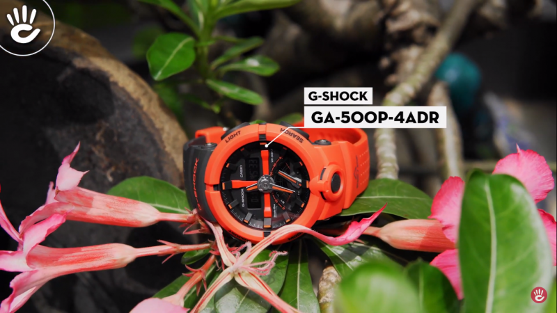 Những chiếc đồng hồ Casio G-Shock cho anh em mệnh hỏa - G-Shock GA-500P-4ADR