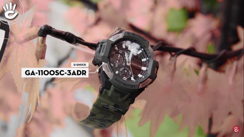 Những chiếc đồng hồ Casio G-Shock cho anh em mệnh hỏa - G-Shock GA-1100SC-3ADR