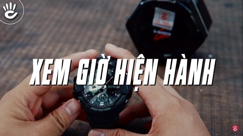Hướng Dẫn Sử Dụng Đồng Hồ G-Shock GA-1100-1A3DR Từ A Đến Z - GA-1100-1A3DR