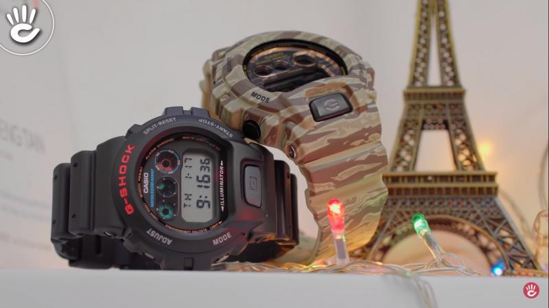 So sánh đồng hồ G-SHOCK DW-6900 vs GD-X6900CM