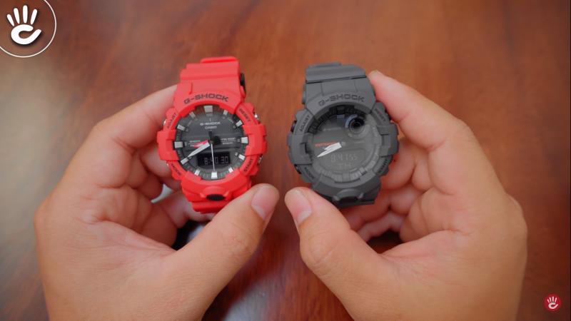 So sánh đồng hồ G-Shock GA-800 vs GBA-800 - Có gì khác biệt?