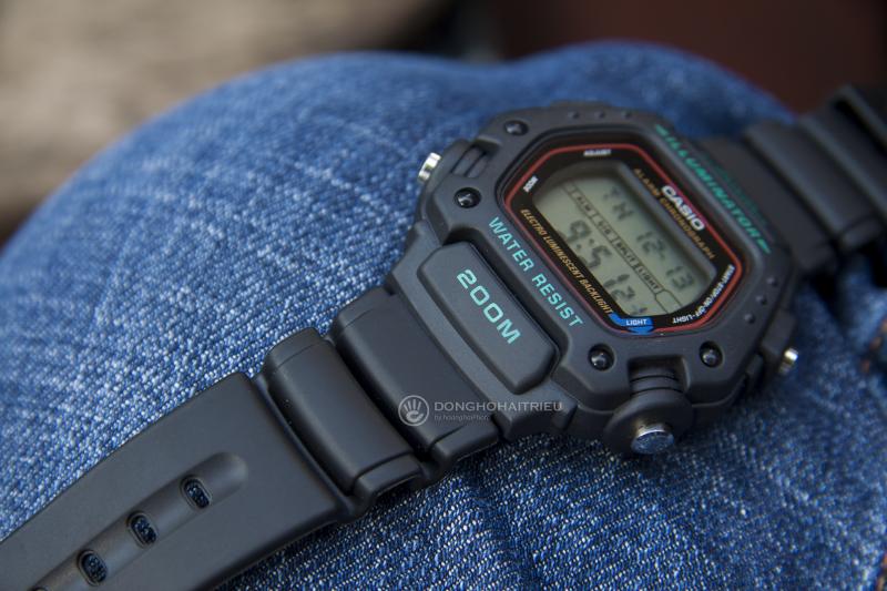 Casio DW-290 có những tính năng cơ bản của chiếc đồng hồ thông thường - DW-290-1VS