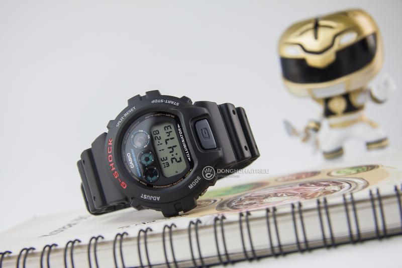 Chiếc đồng hồ với thiết kế mang phong cách thể thao, năng động, cá tính - DW-6900-1VDR