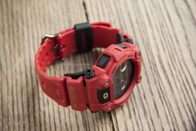 Thời trang nổi bật với mẫu G-Shock G-7900SLG-4DR phiên bản tông màu đỏ đầy cá tính - G-7900SLG-4DR