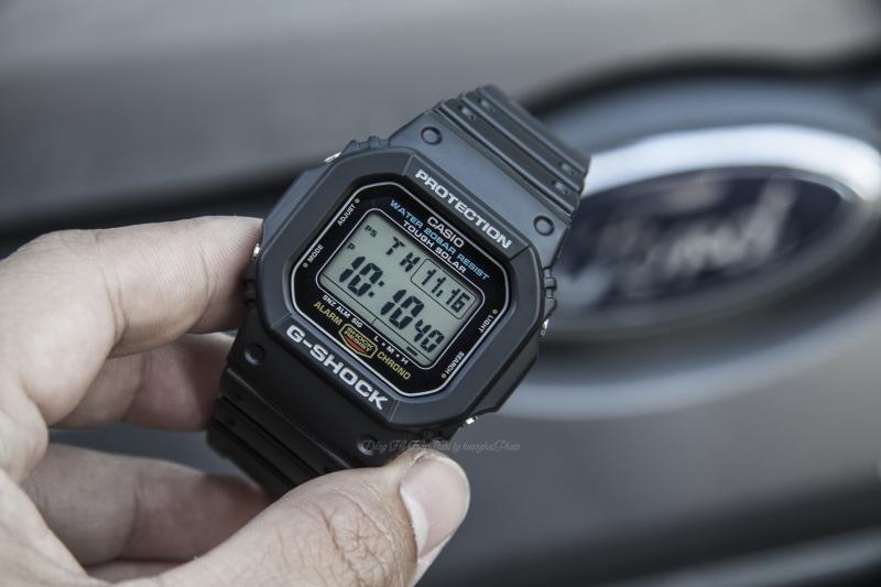 Phù hợp thời tiết khắc nghiệt với khả năng chịu nước lên đến 20 ATM - G-5600E-1DR