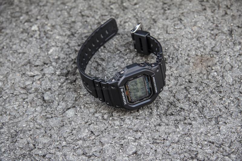 Hướng Dẫn Sử Dụng Đồng Hồ Casio G-Shock G-5600E-1DR Cơ Bản