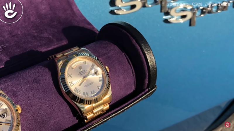 Bạn không nên đeo một chiếc đồng hồ cổ điển, nhất là một tượng đài như thương hiệu Rolex