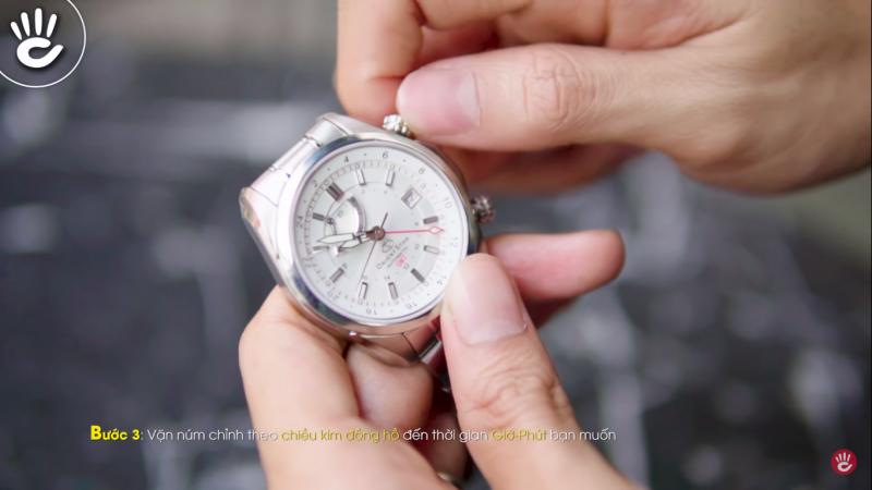 Hướng Dẫn Cách Chỉnh Đồng Hồ Orient Star Automatic GMT Chính Hãng