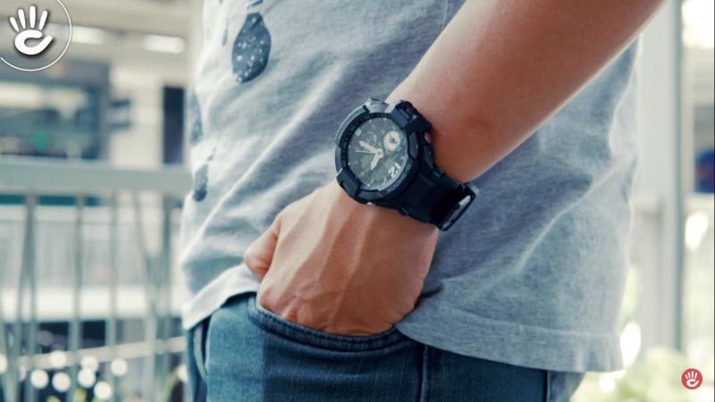 Casio G-Shock hay mang phong cách mạnh mẽ, hầm hố, đỉnh cao về độ bền
