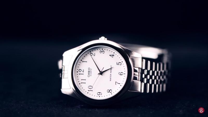 Đồng hồ Casio MTP-1129A-7BRDF cổ điển nổi bật trên nền mặt số trang nhã, lịch lãm