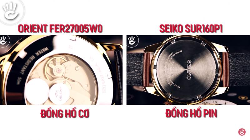 So Sánh Đồng Hồ Seiko SUR160P1 Và Orient FER27005W0 - Giá 3 Triệu