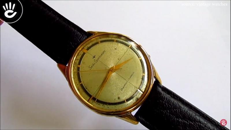 """Đồng hồ SEIKO cổ """"Siêu phẩm vũ khí tán gái thời bao cấp"""""""