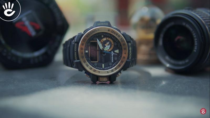 Phiên bản Casio G-Shock Gulfmaster có độ bền rất ấn tượng dành cho những chuyến đi biển dài ngày  mà không lo ngại mọi thách thức