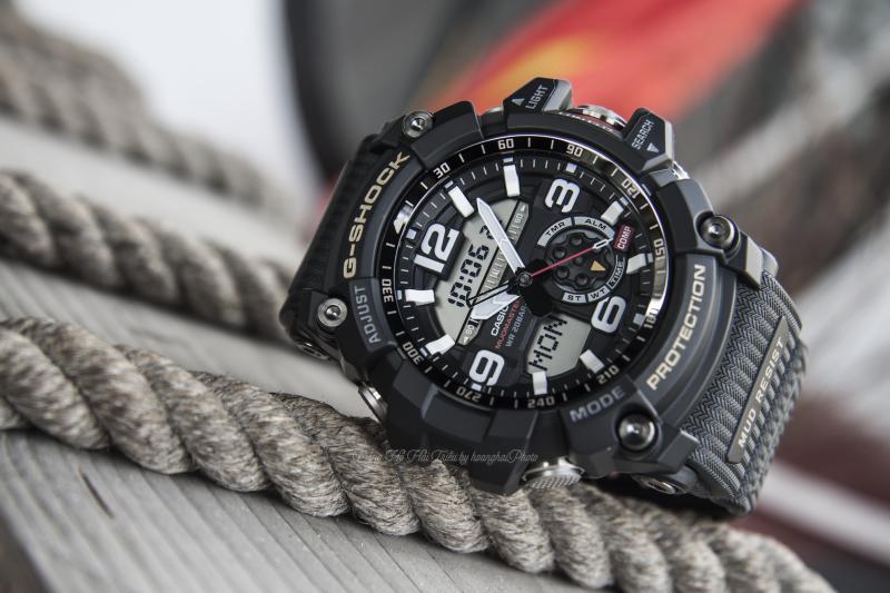 Đồng hồ G-Shock GG-1000-1ADR có mặt số tròn to màu trắng trang nhã thiết kế mạnh mẽ