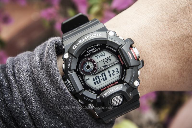 Đồng hồ G-Shock Rangeman mặt số điện tử với những tính năng tiện ích hiện đại - GW-9400-1DR