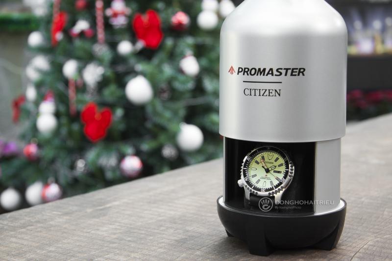 Một hộp đựng rất đặc biệt của dòng Citizen Promaster phiên bản Limited - NY0080-12X