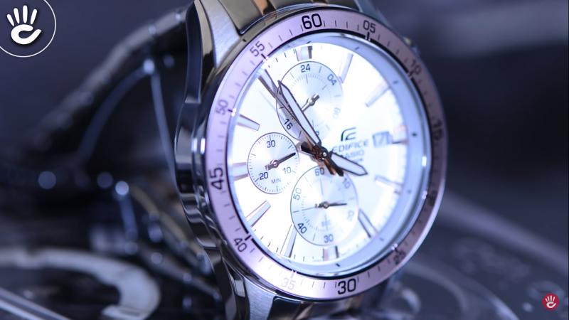 Đồng hồ Casio Edifice EFR-546SG-7AVUDF chất lượng thép không gỉ cao cấp mặt số nổi bật