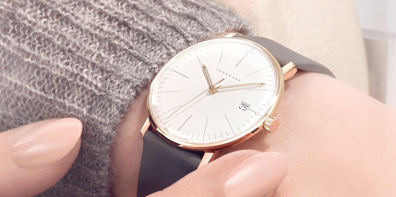 Một mẫu đồng hồ nữ của thương hiệu Junghans
